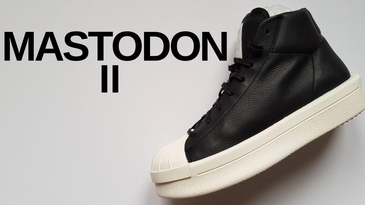 Rick Owens x Adidas  Mastodon II (Review) - YouTube e78a2f34d