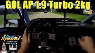 🔴► Gol AP 1.9 Turbo Forjado 2kg de Pressão - G27 - GoPro - LFS - ft. Getaway