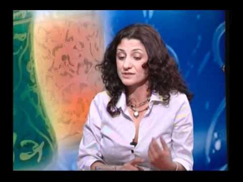 Aline Saadeh - Interview at Arab Women's Channel