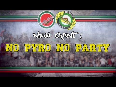 Gruppo Castle Voice : NO PYRO NO PARTY (Ultras Cavaliers)