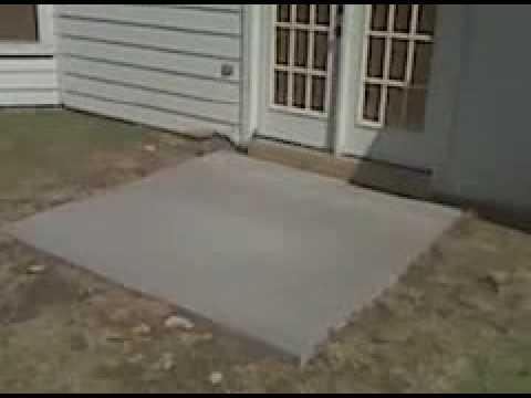 Patio Concrete Slab Replacement And Repair In Fort Worth