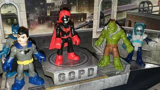 IMAGINEXT DC SUPERFRIENDS GOTHAM CITY MYSTERY POP UP PLAYSET REVIEWS