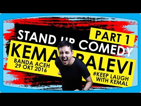 Stand Up Comedy - Penampilan Perdana Kemal Palevi di Aceh [1/2]