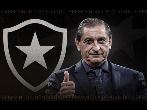 """EU GOSTO DE DESAFIOS"": Ramón Díaz, novo técnico do Botafogo, é apresentado oficialmente!"
