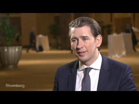 Austrian Chancellor Kurz Says Brexit at Top of Agenda