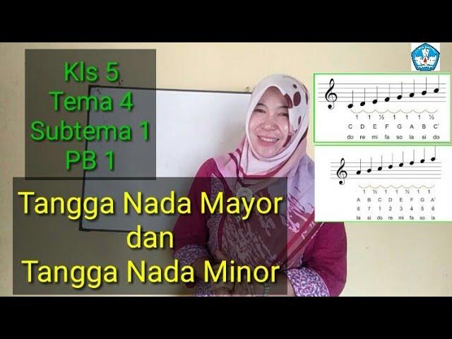 Tangga Nada Mayor Dan Tangga Nada Minor Kls 5 Tema 4 Subtema 1 Pb 2 Youtube