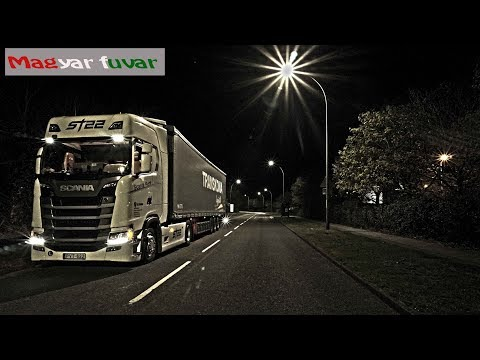 A kamionos egy napja. Magyar kanyar - Sopron