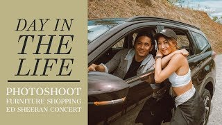 A Day In The Life- Photoshoot, Furniture Shopping, Ed Sheeran Concert   Kryz and Slater