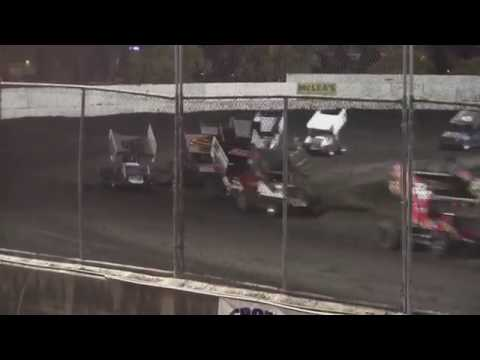 Petaluma Speedway Adobe Cup V 360 Winged Sprint Car Feature 10 8 2016