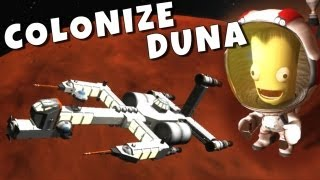 Viking Space Program - Colonize Duna