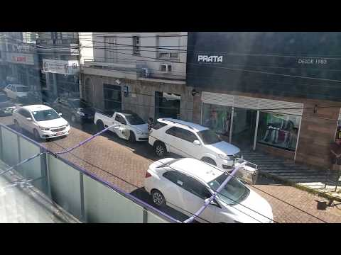 Taxistas fazem buzinaço em Cachoeira do Sul