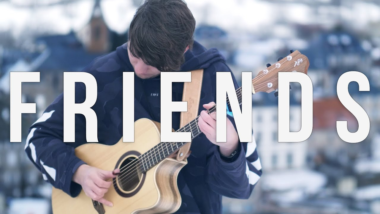 Marshmello Anne Marie Friends Fingerstyle Guitar Cover Official Friendzone Anthem