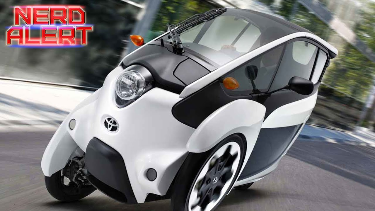 Would You Drive Toyota S Tiny New 3 Wheeled Electric Car
