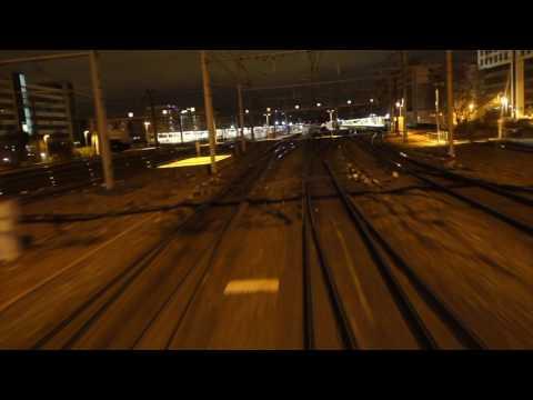 [Cab ride] Traversée de Lyon, Intercités de nuit 4283