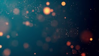 Gambar cover Orange Bokeh, Particles, No Copyright, Copyright Free Video, Motion Graphics, Background Video
