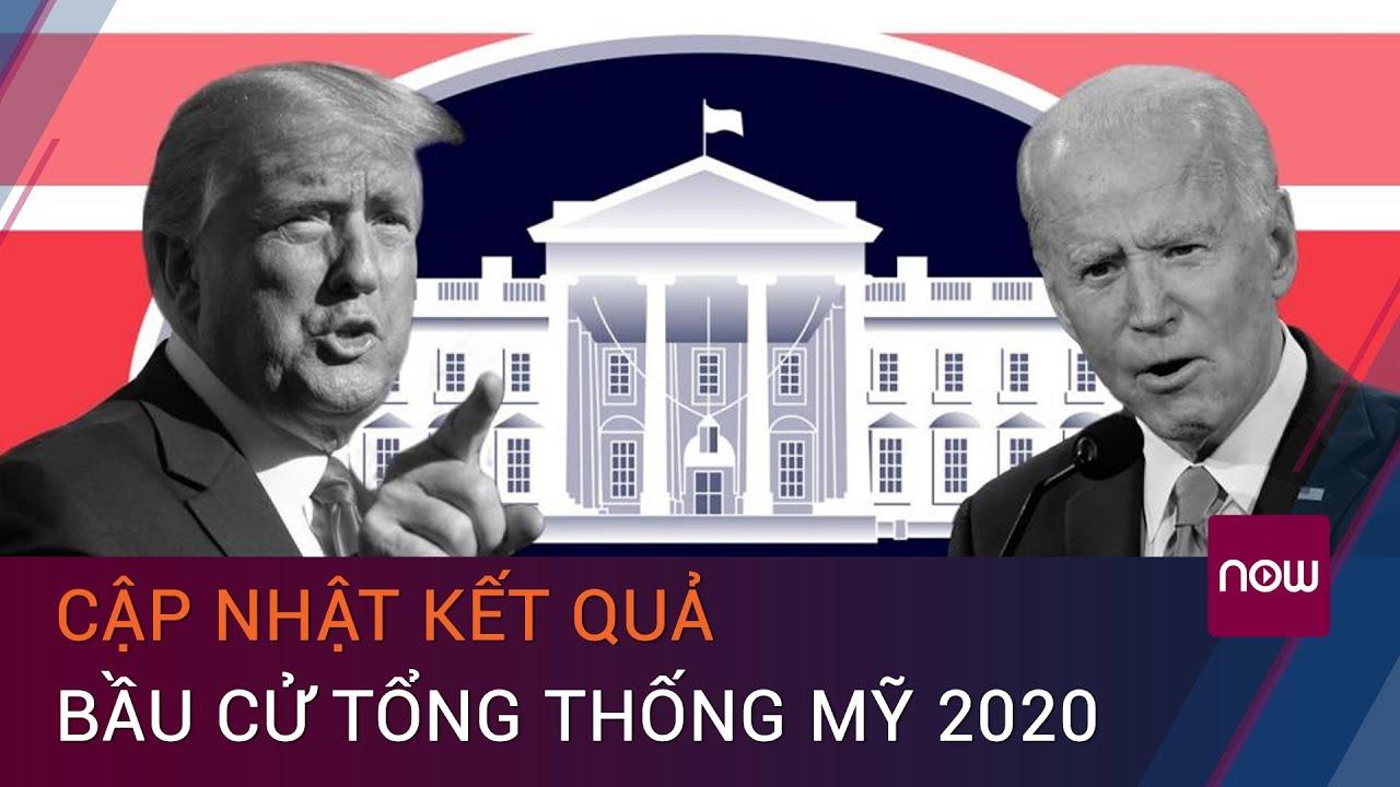 Cập nhật kết quả bầu cử Tổng thống Mỹ 2020 | VTC Now