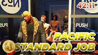 GTA Online - The Pacific Standard Job 42:11 Speedrun (WR)