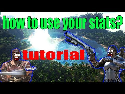 Ark: Survival Evolved Best way to use your stats (pvp and pve)