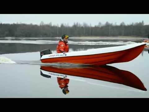Laker 410 на рыбалке