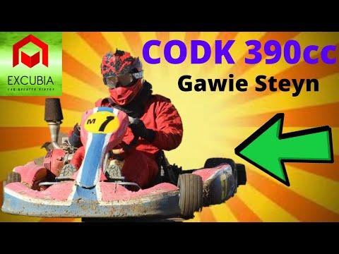 GAWIE STEYN 390cc CAPE DIRT OVAL KARTING