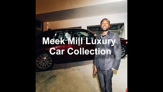 Meek Mill's 2018 Luxury Car Collection