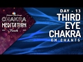 Download Chakra Seed Mantra Chants | OPEN THIRD EYE CHAKRA 'OM' Mantra Chanting Healing Meditation MP3 song and Music Video