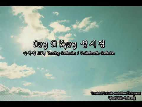 Sung Si Kyung ( 성시경 ) - Dazzling Confession ( 눈부신 고백 )