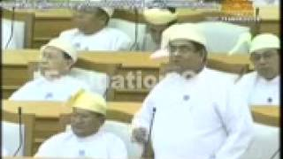 Rohingya MP U Shwe Maung Buthidaung Township Speech in Myanmar parliament. by Bolu