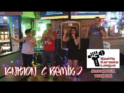 """Ignition (Remix)"" by the Puget Noise - Seattle Karaoke League, Season 4 Week 1"