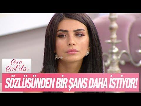 Gamze Hanım sözlüsü Özgür'den bir şans daha istiyor - Esra Erol'da 17 Ekim 2017