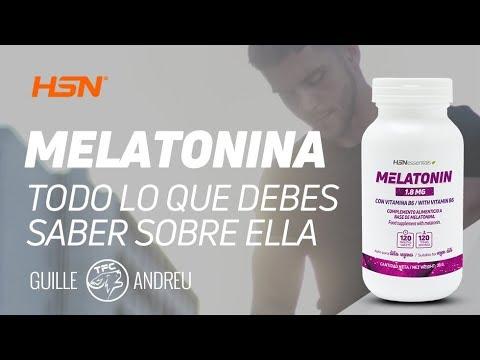 a que hora puedo tomar la melatonina
