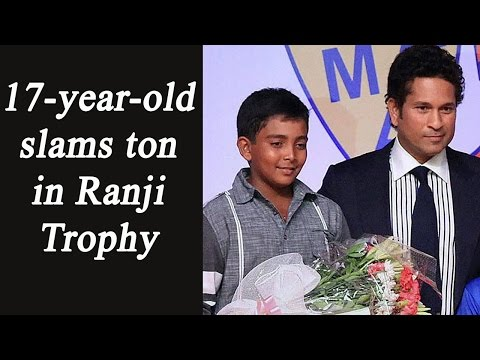Prithvi Shaw hits century in Ranji Trophy, Joins Sachin Tendulkar