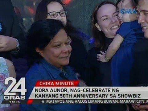 Nora Aunor, nag-celebrate ng kanyang 50th anniversary sa showbiz