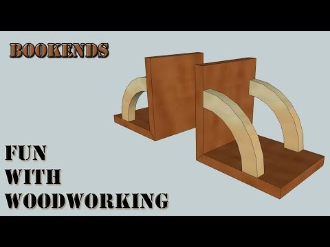 How to make Book Ends!