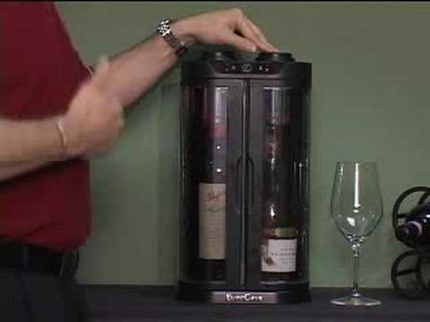 EuroCave SoWine Home Wine Bar - YouTube