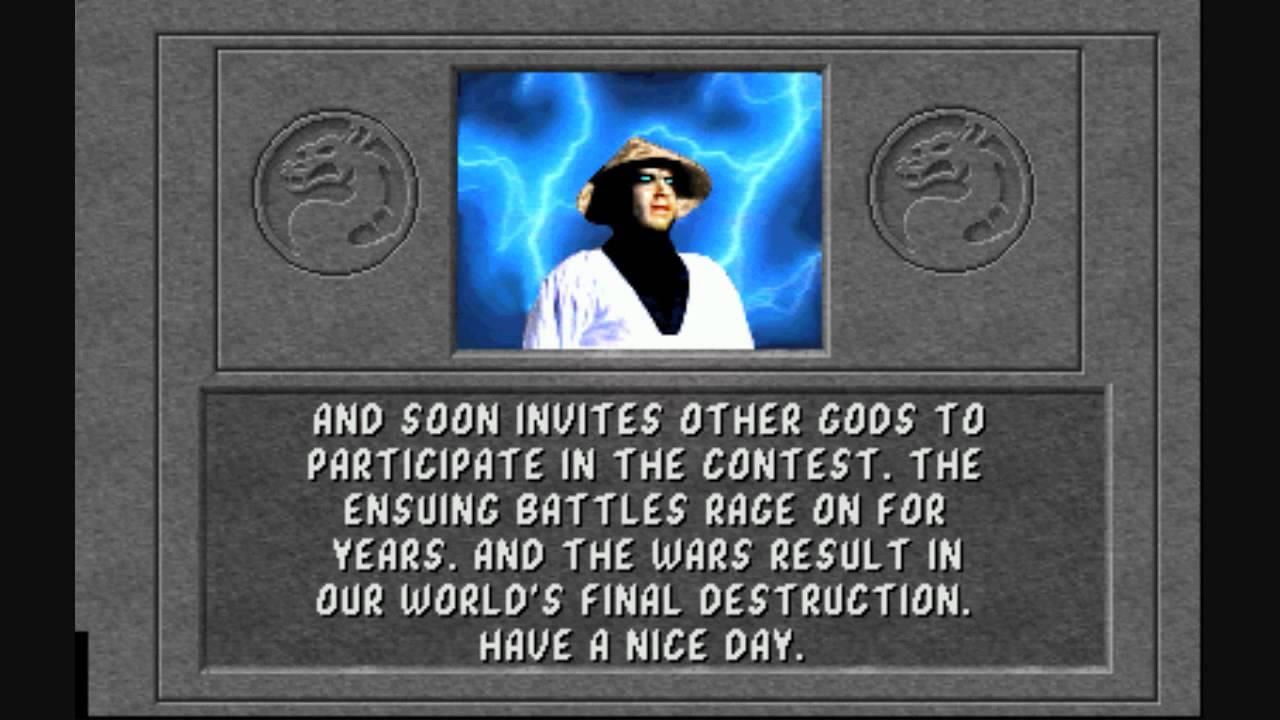 Mortal Kombat 1 Raiden Ending Youtube