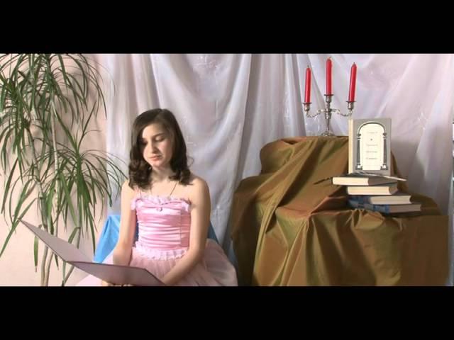 Изображение предпросмотра прочтения – ЕлизаветаКириченко читает произведение «Ромео и Джульетта» У.Шекспира