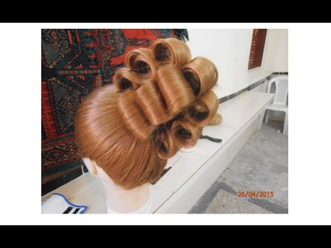 Hairstyles How To Make A Wedding Bun Youtube