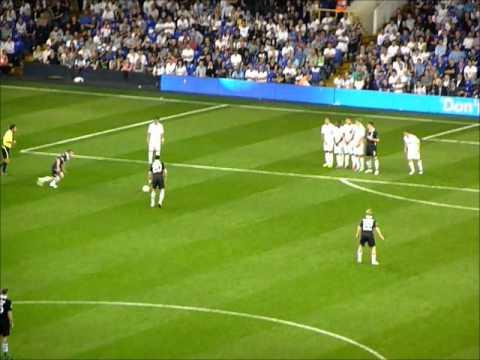 Spurs vs Shamrock rovers...the hoops goal