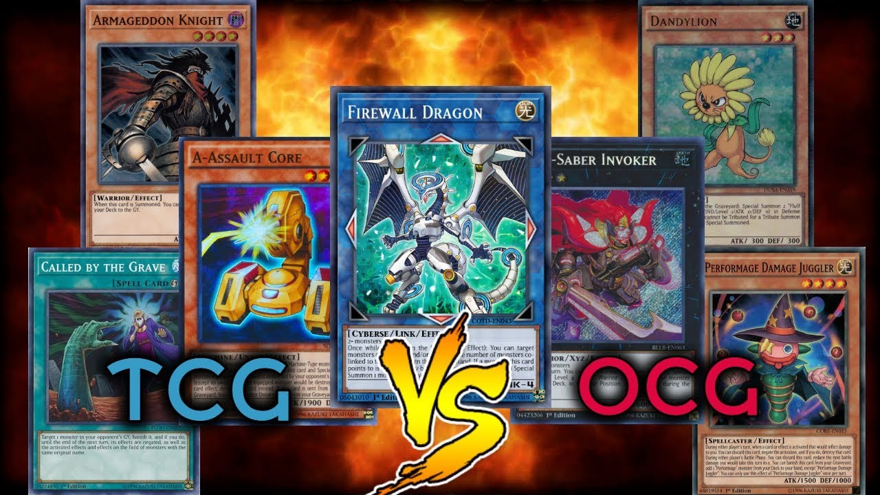 TCG vs OCG Who Utilized their Ban List Better