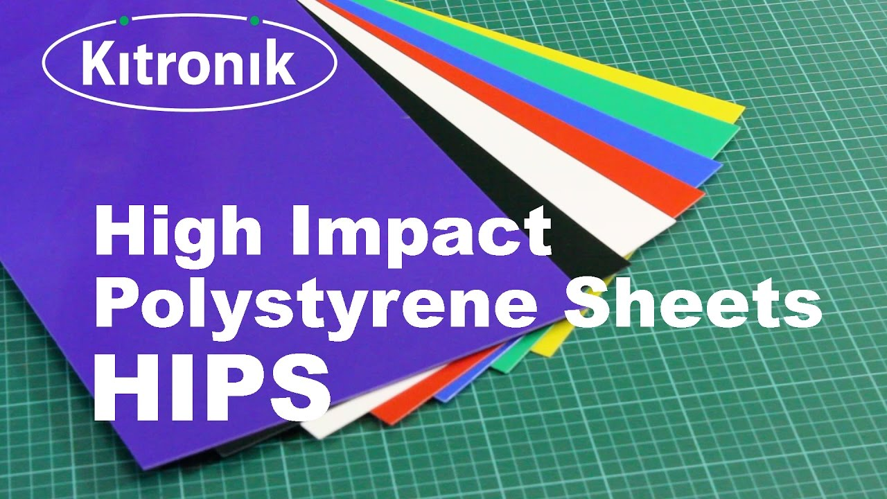 High Impact Polystyrene Sheet Hips Product Video Youtube