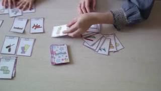 Настольные игры на английском. Множественное число.