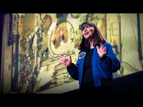 Video image: What it's like to live on the International Space Station - Cady Coleman