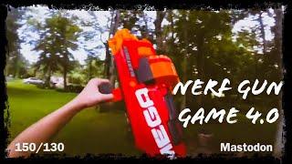 Nerf meets COD | Gun Game 4.0 | Filmed in 4K!