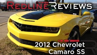 2012 Chevrolet Camaro SS Review, Walkaround, Exhaust, Test Drive