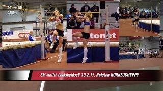 SM-hallit 2017 | naisten korkeus | 1. Linda Sandblom ... | kooste 170-194 cm | slowmo