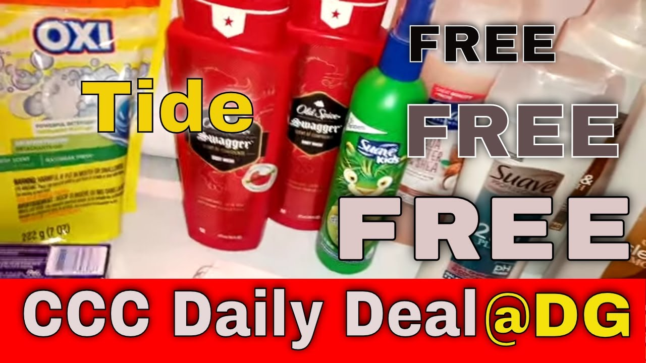 Dollar General triple dip deal 🤣 Free Tide with glitch