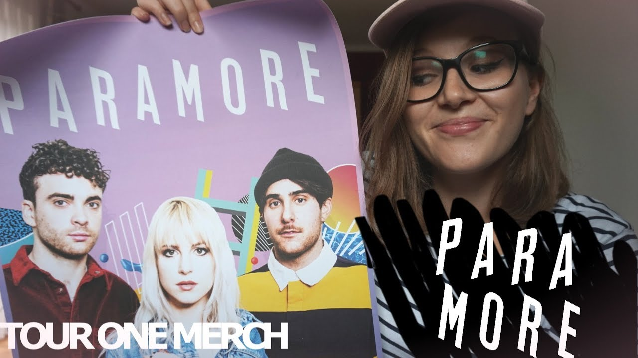 Paramore Tour One Merch - YouTube Paramore Mersch Nederland