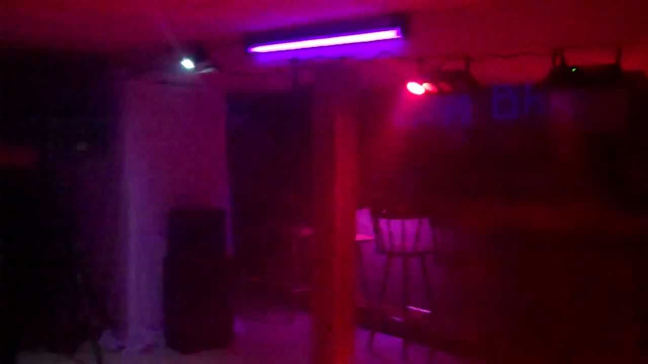 black mural lighting parties light boston airbrush lights blacklight