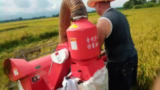 Nongyou Small rice harvester in Philippines 4LZ-0.8